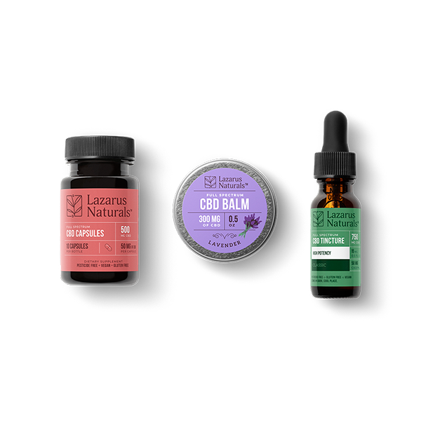 Lazarus Naturals : High Potency Sample Pack