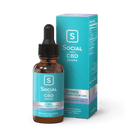 Social CBD : Broad Spectrum Drops : 375mg