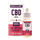 CBDistillery Full Spectrum Tincture - 83 Mg / 1 Ml (2500 Mg / 30 Ml)