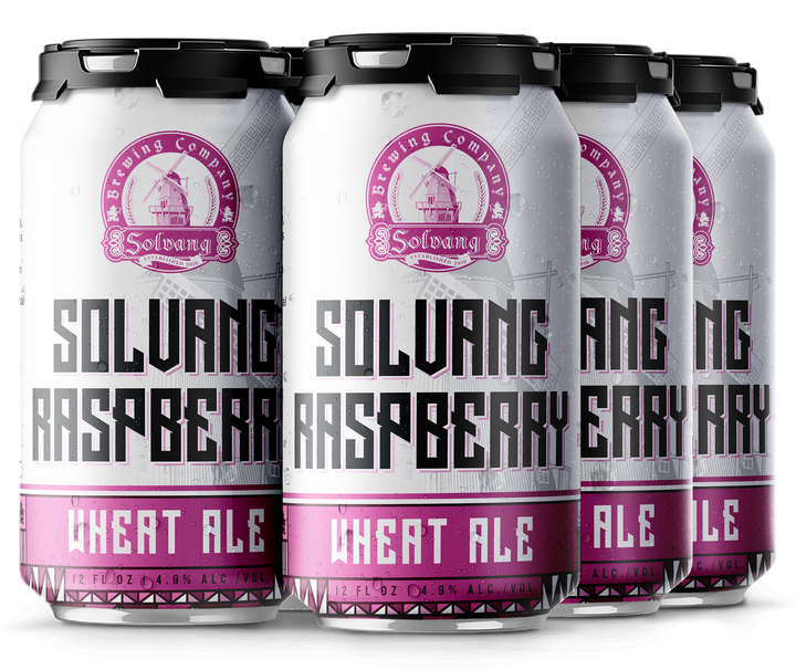 Raspberry Wheat Ale - 24 pk Case