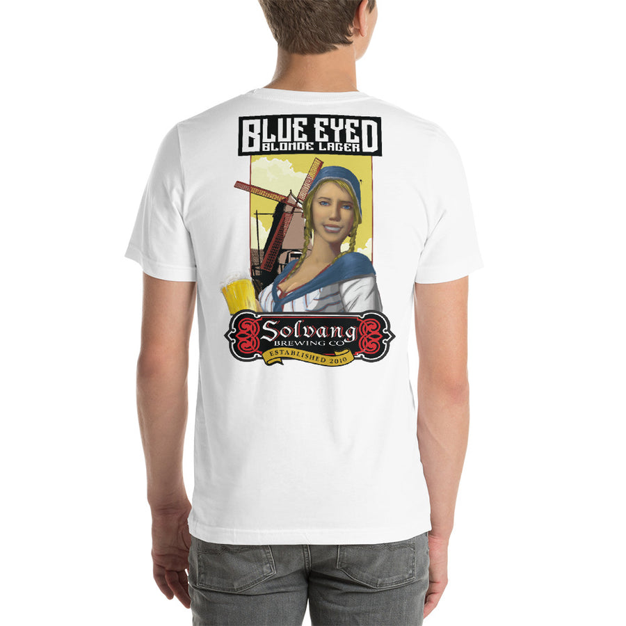 Blue Eyed Blonde Unisex T-Shirt