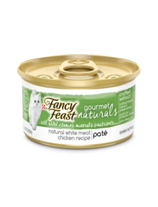 Fancy Feast Gourmet Naturals White Meat Chicken Pate Canned Cat Food 85g