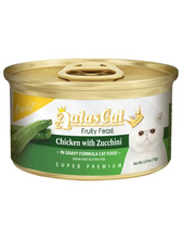 Load image into Gallery viewer, Aatas Cat Finest Fruity Feast Chicken with Zucchini in Gravy Wet Food 70g
