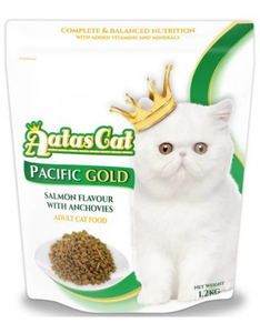 Aatas Cat Adult Cat Food Supreme Gold & Pacific Gold 1.2kg (2 Flavours Available)