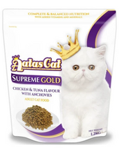 Load image into Gallery viewer, Aatas Cat Adult Cat Food Supreme Gold & Pacific Gold 1.2kg (2 Flavours Available)