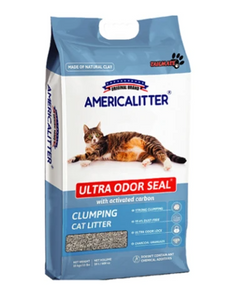 American Litter Ultra Odour Seal Clumping Cat Litter 10L