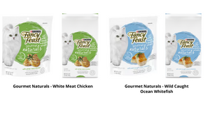 Fancy Feast® Gourmet Naturals Wild Caught Ocean Whitefish Dry Cat Food with Added Vitamins, Minerals and Nutrients
