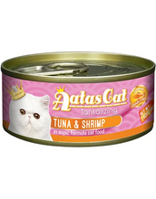 Load image into Gallery viewer, Aatas Cat Tantalizing Tuna & Shrimp in Aspic Cat Wet Food 80g