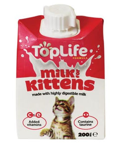 TopLife Milk For Kitten 200ml