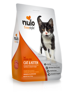 Nulo Freestyle Grain Free Cat & Kitten Turkey & Duck Recipe 2.27kg
