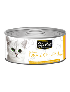 Kit Cat Tuna & Chicken Toppers 80g