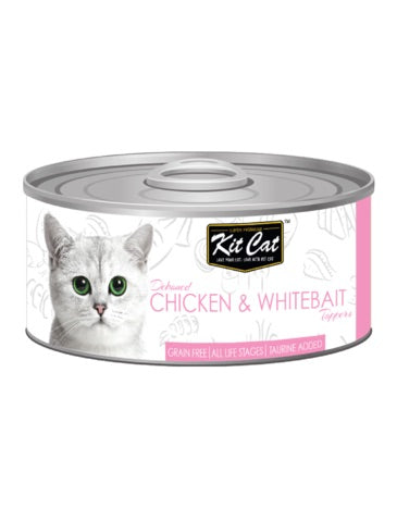 Kit Cat Deboned Chicken & Whitabait 80g