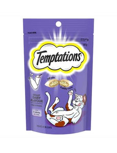 Temptations Creamy Dairy Flavour Cat Treat 85g