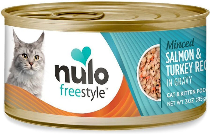 Nulo Freestyle Salmon & Turkey Recipe 85g