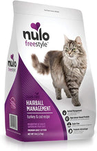 Load image into Gallery viewer, Nulo Freestyle Hairball Management Turkey & Cod Recipe 2.27kg