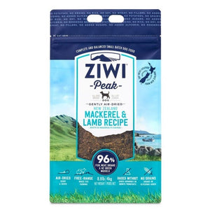 ZiwiPeak Air-Dried Mackerel & Lamb Cat Food