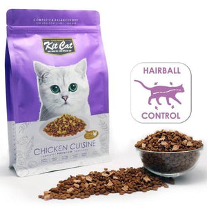 Kit Cat Chicken Cuisine Dry Cat Food 1.2kg