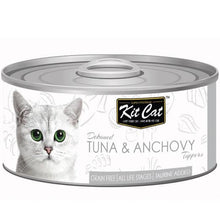 Load image into Gallery viewer, Kit Cat Tuna & Anchovy Toppers 80g