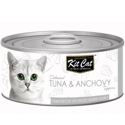Kit Cat Tuna & Anchovy Toppers 80g