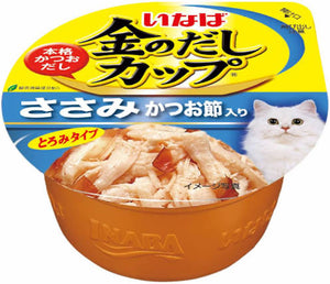Ciao pudding chicken fillet in gravy topping dried bonito