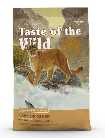 Taste Of The Wild Canyon River Trout & Smoked Salmon