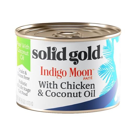 Solid Gold Chicken And Coconut 6onz