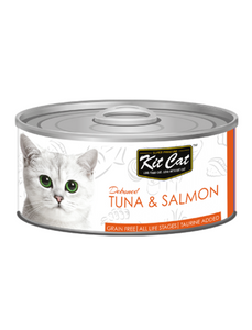 Kit Cat Tuna & Salmon Toppers 80g