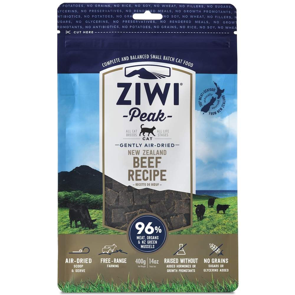 ZiwiPeak Air-Dried Beef Cat Food