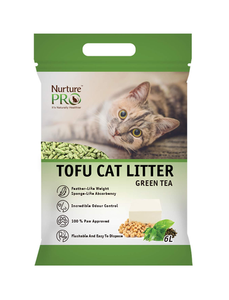 (2 for $15.80) Nurture Pro Tofu Cat Litter GreenTea 6L