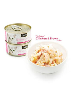 Kit Cat Deboned Chicken & Prawn 80g