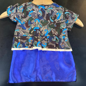 Cats Batik Dress Size S