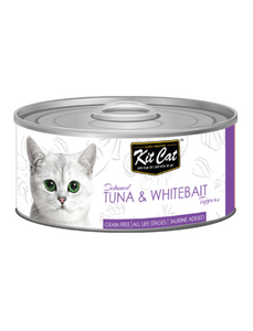 Kit Cat Tuna & Whitebait Toppers 80g