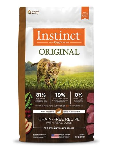 Instinct Original Grain Free Chicken Recipe 2.2Lb