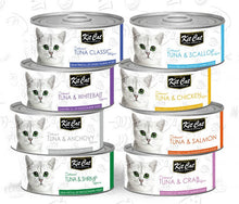 Load image into Gallery viewer, Kit Cat Tuna & Chicken Toppers 80g