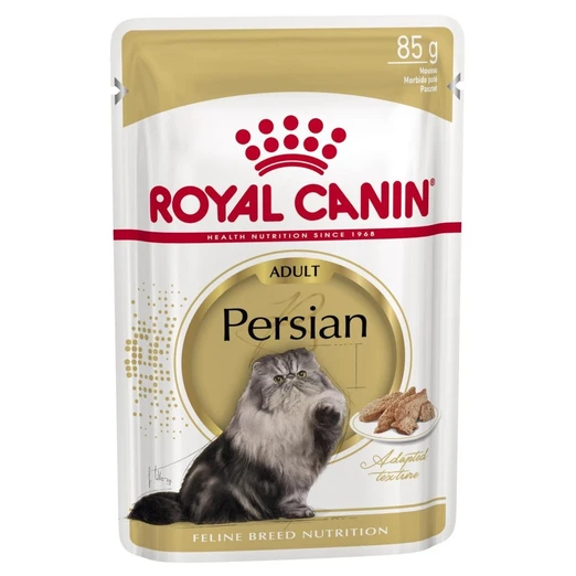 Royal Canin Feline Health Nutrition Persian Pouch Cat Food 85g (Box of 12)