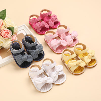 Baby Girl Soft-soled Non-slip Sandals Wholesale Children's Clothing Rose Red 11