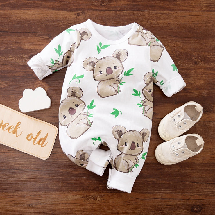 Kaola Printed Jumpsuit for Baby Boy Wholesale children's clothing - Riolio