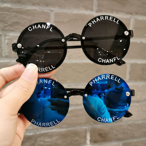 Fashion Sunglasses Wholesale Children's Clothing Blue Free size
