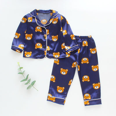 2-piece Cartoon Design Pajamas for Toddler Girl Wholesale children's clothing - Riolio