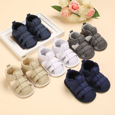 Baby Boy Summer Baby Toddler Baby Shoes Wholesale Children's Clothing White 11