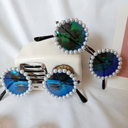 Pearl Children's Glasses Wholesale Green Free size