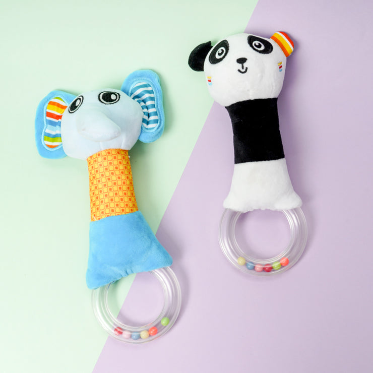 Cute Animal Rattle Baby Plush Toy Wholesale children's clothing - Riolio