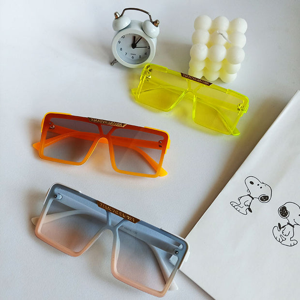 Daily Children's Glasses Wholesale Children's Clothing Orange Free size