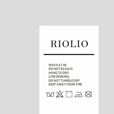 Customized Label - Riolio