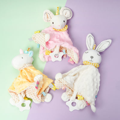 Wholesale Easter Rabbit Soothing Towel Baby Sleep Toy- Riolio