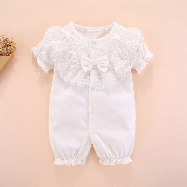 Lace Bodysuit for Baby Girl Wholesale Children's Clothing - Riolio