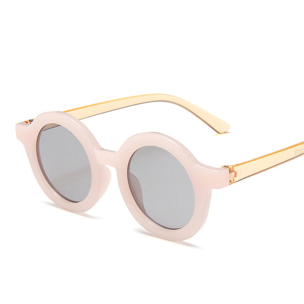Retro Sunglasses Wholesale Children's Clothing White Free size