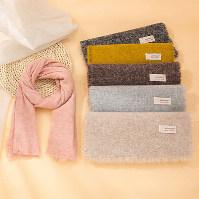 Solid Color Scarf for Children Wholesale children's clothing - Riolio