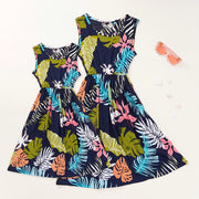 Beach Dress for Mother and Daughter Wholesale Children's Clothing Multi Mom: XL