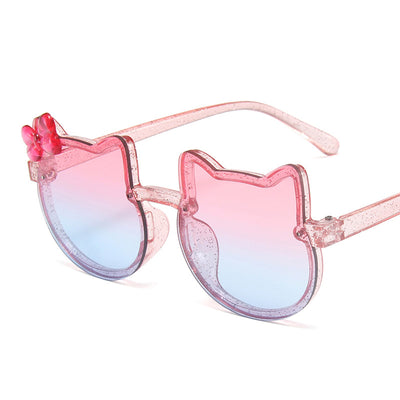 Toddler Girl Sunglasses Wholesale Children's Clothing Khaki Free size